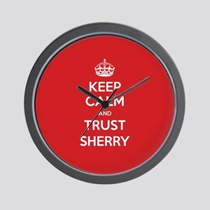 Trust Sherry Wall Clock