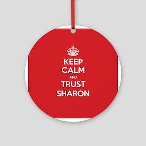 Trust Sharon Ornament (Round)