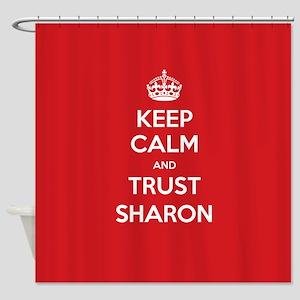 Trust Sharon Shower Curtain