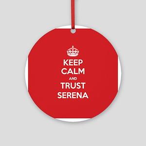 Trust Serena Ornament (Round)