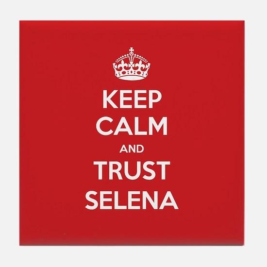 Trust Selena Tile Coaster