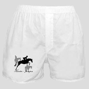 Hunter Jumper Trio Script Boxer Shorts