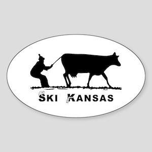 Ski Kansas Sticker