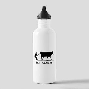 Ski Kansas Water Bottle