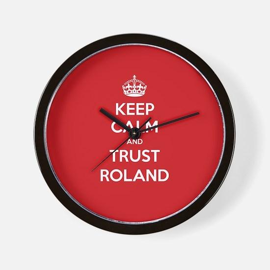 Trust Roland Wall Clock