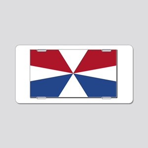 Civil Ensign of the Netherl Aluminum License Plate