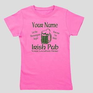 Custom Irish pub Girl's Tee