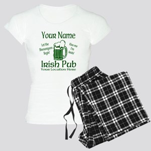 Custom Irish pub Pajamas