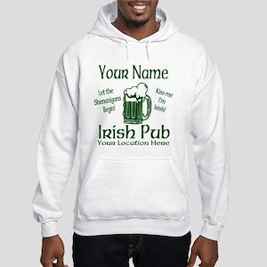 Custom Irish pub Hoodie