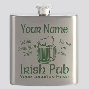 Custom Irish pub Flask