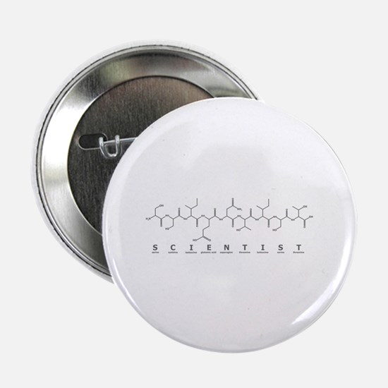"Scientist Peptide 2.25"" Button (10 pack)"