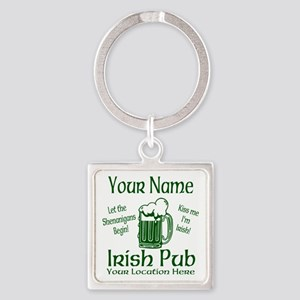 Custom Irish pub Keychains