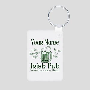 Custom Irish pub Keychains