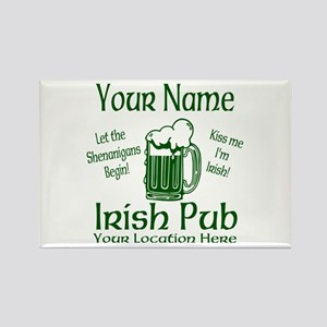 Custom Irish pub Magnets