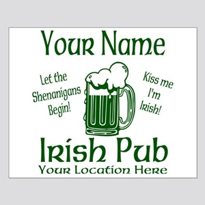 Custom Irish pub Posters
