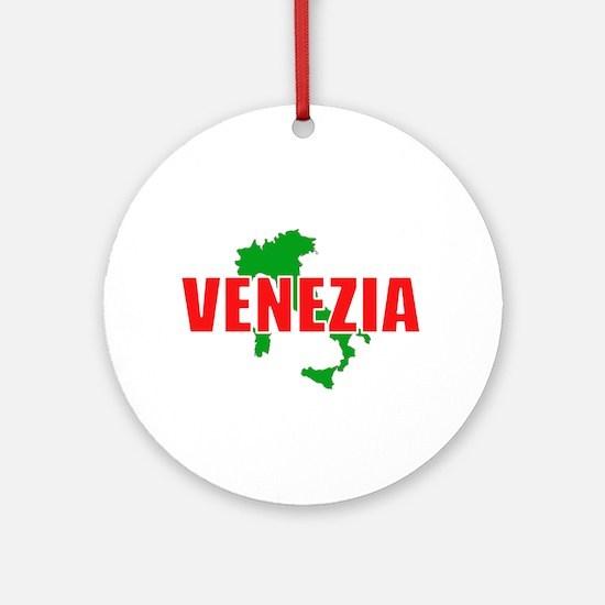 Venezia, Italia Ornament (Round)