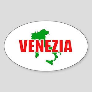 Venezia, Italia Oval Sticker