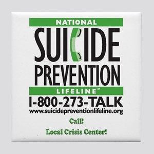 Prevent Suicide! Tile Coaster