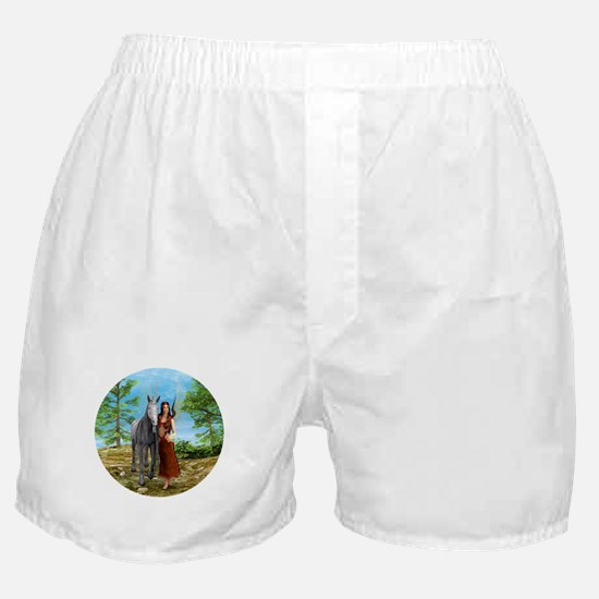 Fairy and Unicorn Boxer Shorts