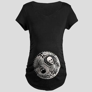 Yin & Bones Maternity Dark T-Shirt