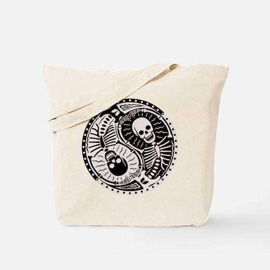 Yin & Bones Tote Bag