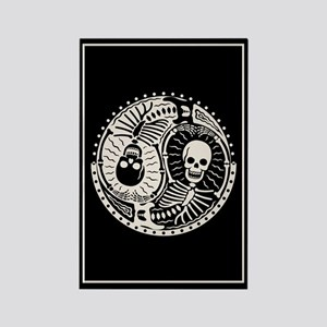 Yin & Bones Rectangle Magnet