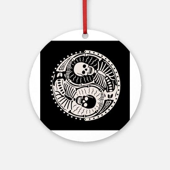 Yin & Bones Ornament (Round)