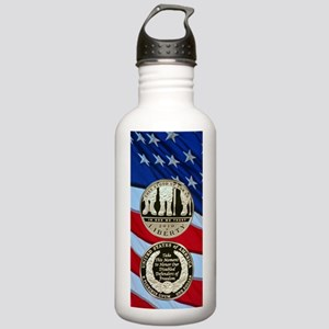 2010 Disabled Vets Dol Stainless Water Bottle 1.0L