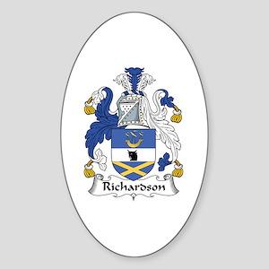 Richardson Oval Sticker