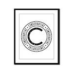 Conservative Framed Panel Print