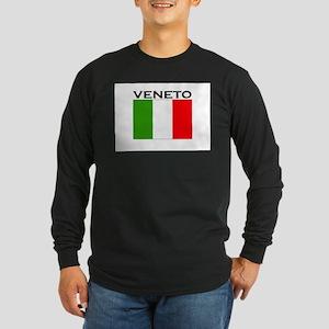 Veneto, Italy Long Sleeve Dark T-Shirt