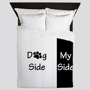 Dog Side Queen Duvet