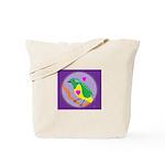 Golden-browed Chlorophonia Tote Bag