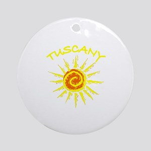 Tuscany, Italy Ornament (Round)