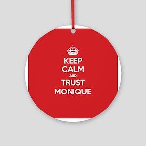 Trust Monique Ornament (Round)