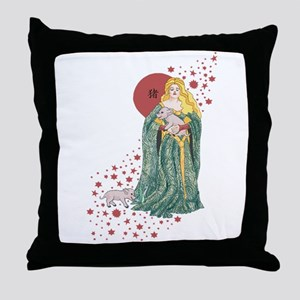 Year of the Pig Throw Pillow