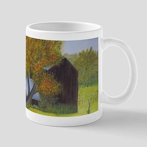 Waterford Barn and Sheep Mugs