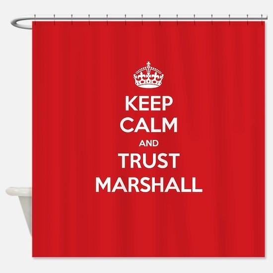 Trust Marshall Shower Curtain