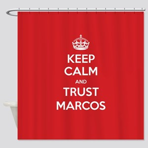 Trust Marcos Shower Curtain