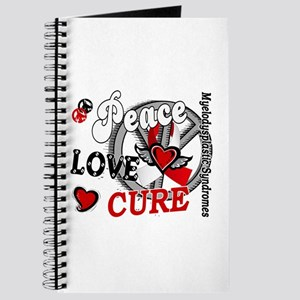MDS Peace Love Cure 2 Journal