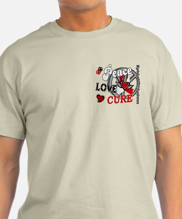 MDS Peace Love Cure 2 T-Shirt