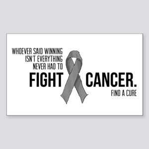 Fight Brain Cancer Sticker
