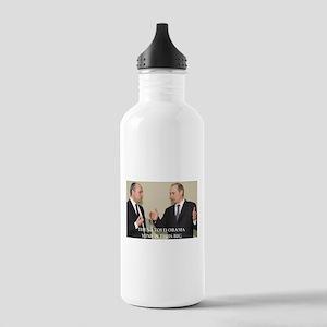 anti obama joke Water Bottle