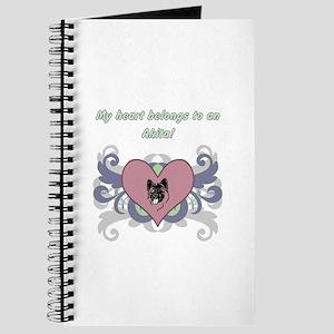 My heart belongs...Akita Journal