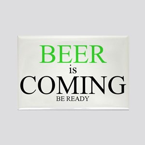 BEER is COMING Magnets