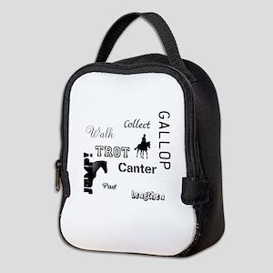 Horse Design #52000 Neoprene Lunch Bag