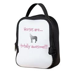 Horse Theme Design #54000 Neoprene Lunch Bag