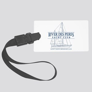 River Des Peres Yacht Club - Large Luggage Tag