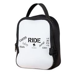 Horse Theme Design #70000 Neoprene Lunch Bag