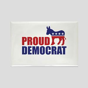 Proud Democrat Donkey Logo Magnets
